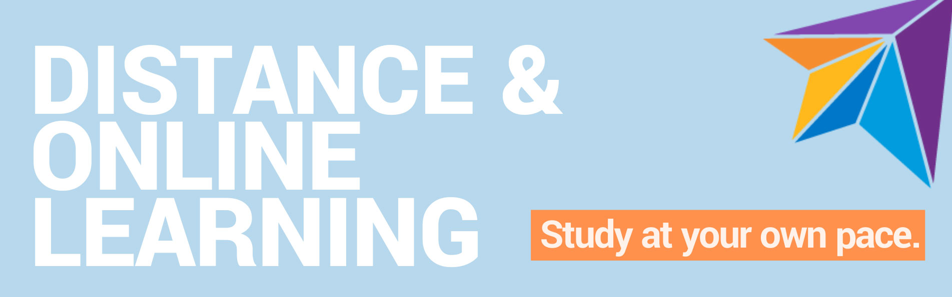 distance learning banner